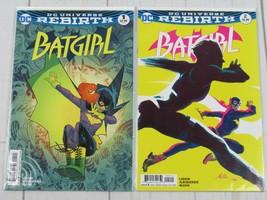 Batgirl Rebirth #1-2 DC Comic Bagged and Boarded - C4002 - $5.99