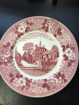 Wedgwood Collectible Diner Plate Governors Palace Garden Williamsburg Vi... - $3.47
