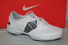 Nike Delight V Womens Golf Shoe, Water Resistant, WHITE/BLK/PLATINUM, 651997 100 - $50.99