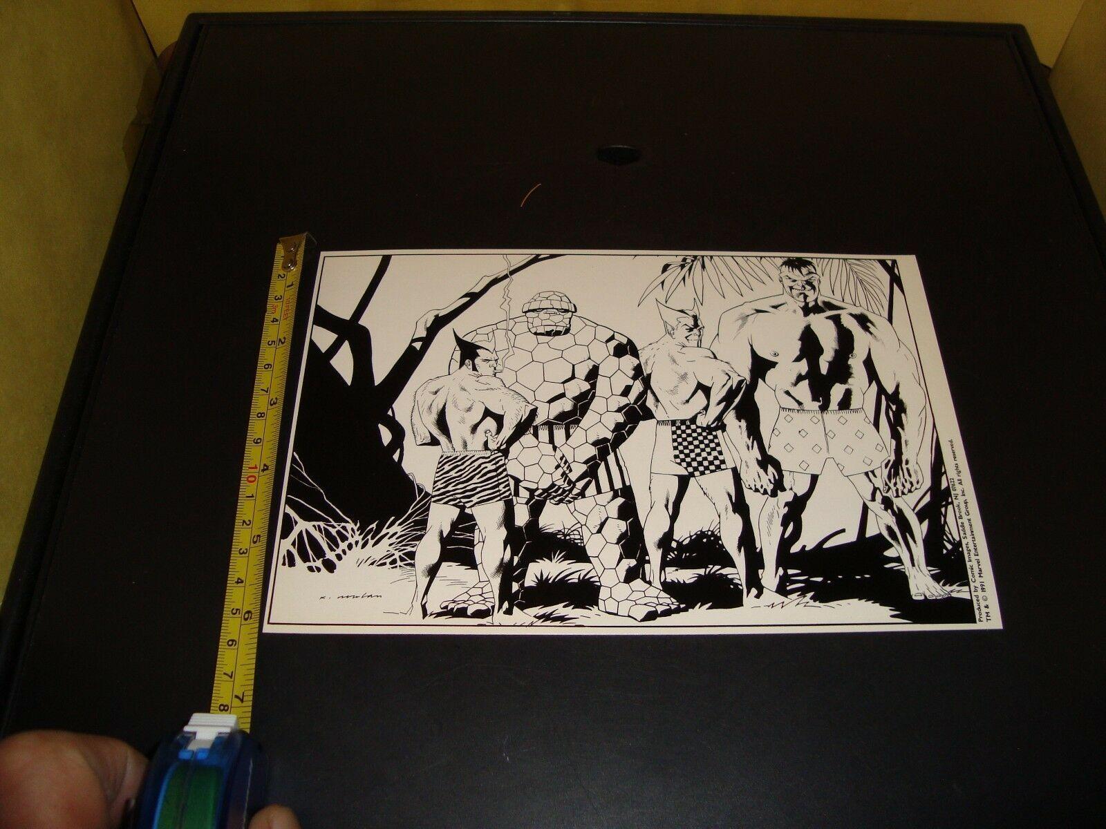 Keepsake 1991 Marvel Comic Book Keepsake Collection Numbered Proof Set Autograph