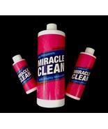 Joy Mangano Miracle Clean Jewelry Clean Set Of 3  32 oz./8 oz./4 oz. Liq... - $40.19