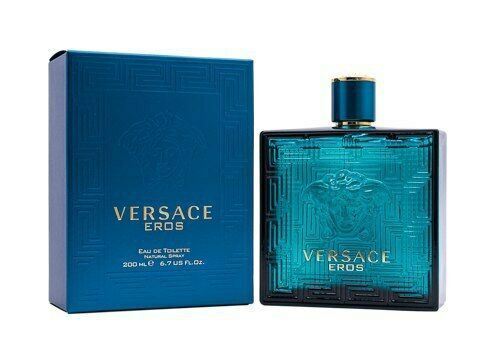 Versace Eros by Gianni Versace 6.7 / 6.8 OZ EDT Cologne for Men NDP-137 - $90.11