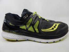 Saucony Hurricane ISO 3 Size: 12 M (D) EU 46.5 Men's Running Shoes Gray S20349-1