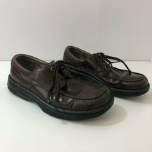 MERRELL World Sensation Redwood Genuine Leather Oxford Shoes Mens Size 10.5 - $54.36