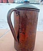 Vintage Copper Water Pitcher coffee Pot,Milk Pot With Handle, Drinking W... - $92.65