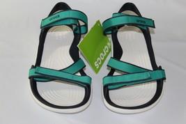 CROCS Swiftwater Webbing Women's Sandals, SIZE 7, 204804-3n9 - $29.64