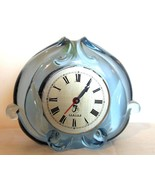 "Vintage Fenton Blue Glass Clock Case Only 4.5 x 6"" - $49.40"