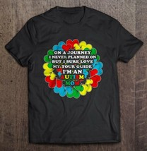On A Journey I Never Planned On But I Sure Love My Tour Guide Autism Mom Men Tee - $16.82+