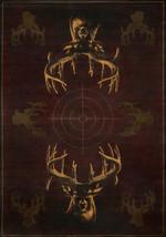 United Weavers Buckwear Genesis Matter of Truth Brown Runner Rug 1'11'' x 7'4'' - $75.00