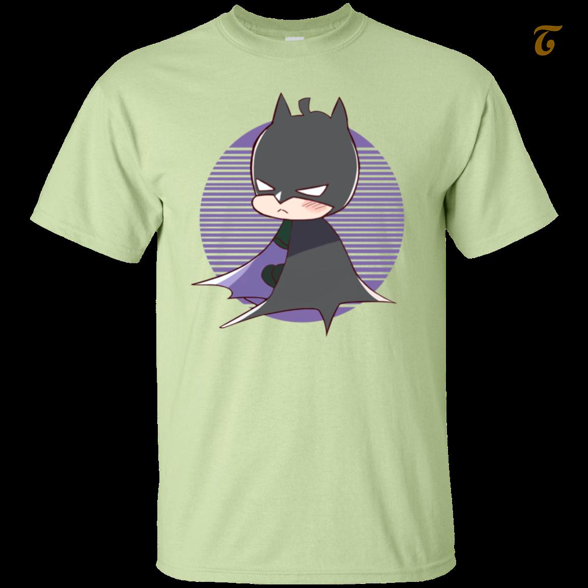 Batman  supper man  comic  film  men s t shirt   pistachio