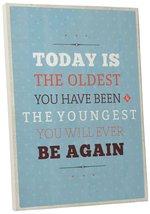"Pingo World 0107Q9W874M ""Oldest Youngest"" Inspirational Motivational Hap... - $43.51"
