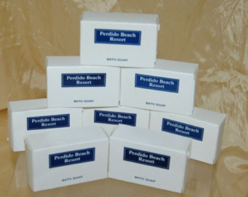 Perdido Beach Resort 8 Individual Boxed Bars Bath Soap
