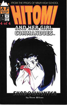 Hitomi and Her Girl Commandoes Comic Book #4, Antarctic Press 1992 VFN/NEAR MINT - $2.50