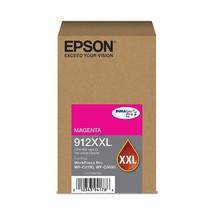 Epson T912XXL320 Durabrite Pro 912XXL Magenta Extra High Capacity Ink Ca... - $174.31