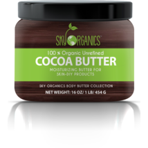Sky Organics Organic Cocoa Butter - $29.00
