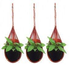 K'Dauz Hanging Planter Basket Flower Plant Pots Decorative Outdoor Indoo... - $26.21 CAD