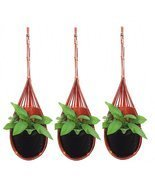 K'Dauz Hanging Planter Basket Flower Plant Pots Decorative Outdoor Indoo... - $378,85 MXN