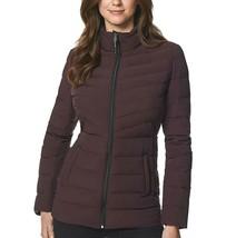 32 Degrees Women's 4-Way Stretch Puffer Jacket Light Weight Eggplant Size XLarge image 1