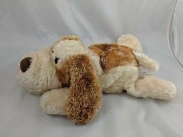 "Aurora Scruff the Hound Dog Hand Puppet Plush Tan Brown 14"" Stuffed Animal - $12.95"