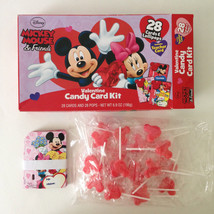 Disney Mickey Mouse & Friends Valentines Day Candy Card Kit 28 Cards & L... - $11.95