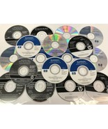 HP Windows Software disc disk lot of 18  - $18.69