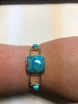 Jay King Crows Peak Turquoise Bangle Bracelet  - $128.69