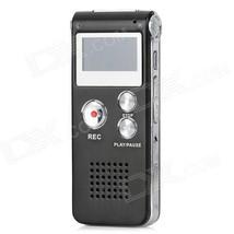 GH-609 Digital Voice Recorder - Black + Silver - $28.05