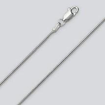 Snake Chain Lg. Bracelet or Sm. Anklet - 8 inch (1.6mm*) - Sterling Silver - $9.69