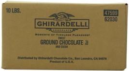 Ghirardelli Chocolate Sweet Ground Chocolate & Cocoa Beverage Mix, 10-Pound Pack - $60.01