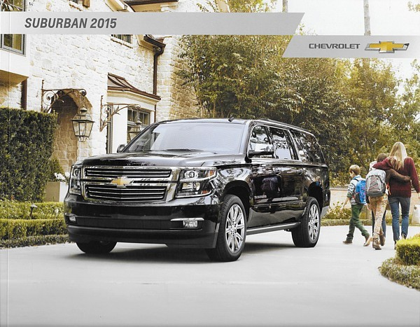 Primary image for 2015 Chevrolet SUBURBAN brochure catalog US 15 Chevy LS LT LTZ
