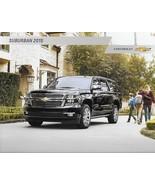 2015 Chevrolet SUBURBAN brochure catalog US 15 Chevy LS LT LTZ - $8.00