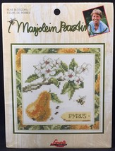 "Marjolein Bastin Pear Blossoms Counted Cross Stitch Kit 5"" x 5"" Design L... - $14.84"