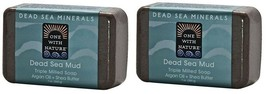 One with Nature Dead Sea Minerals Dead Sea Mud Soap Bar 2 Pack - $14.80