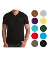 Lacoste Men's Premium Pima Cotton Sport Athletic Jersey V-Neck Shirt T-S... - $39.59