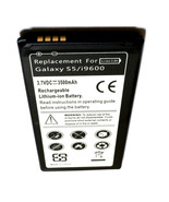 Samsung Galaxy S5 SPH-G900BVB Virgin Mobile 3500 mAh Replacement Battery... - $13.88