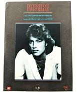 Andy Gibb Desire Sheet Music Piano Vocal Guitar Chords VTG 1980 Rare Bee... - $18.33