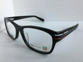 New TAG Heuer TH 0534 534 003 53mm Gray Men's Eyeglasses Frame France  - $229.99