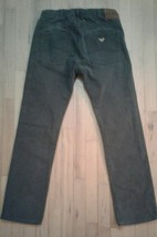 AJ Armani Jeans Jean Homme J45 Regular Fit Grey Cotton 32/34 actual 32/30 - $29.83