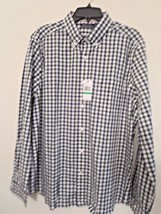 Nautica Mens Sz L Oxford L/S Checkered Shirt 50% Off And Free Shipping New w/Tag - $34.40
