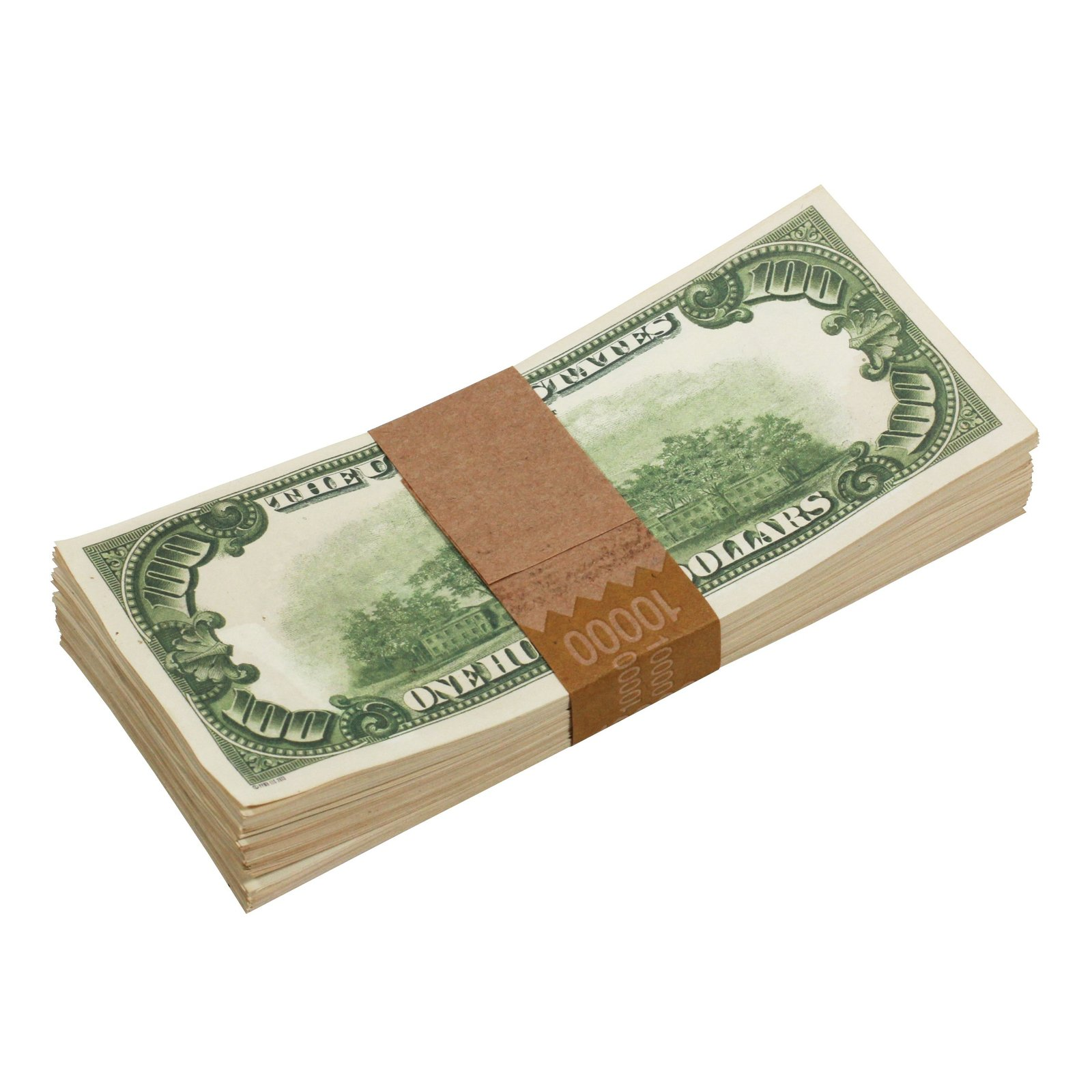 1980s Series $100s Aged $1,000,000 Full Print Package Realistic Prop Money image 5