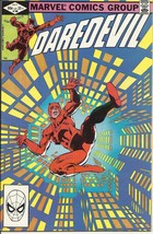 (CB-11) 1982 Marvel Comic Book: Daredevil #186 - $10.00