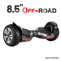 "Black 8.5"" Off Road All Terrain Bluetooth Hoverboard Two Wheel Balance S... - $329.00"