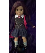 "Harry Potter Inspired School Uniform 8 + Peice Set for 18"" (45cm) Dolls  - $27.99"