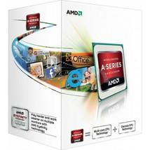 AMD A4-4000 Richland Dual-Core 3.2 GHz Socket FM2 65W AD4000OKHLBOX Desktop Proc - $19.79