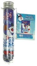 Frosty The Snowman 150 Pc Mini Puzzle Tube 4x6 Tiny Pieces Kids Gift Toy - $10.19