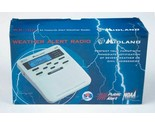 MIDLAND S.A.M.E. DIGITAL WEATHER HAZARD NOAA ALERT RADIO MONITOR WR-100 NEW