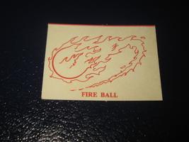 1980 TSR D&D: Dungeon Board Game Piece: Spell Card : Fire Ball - £0.72 GBP