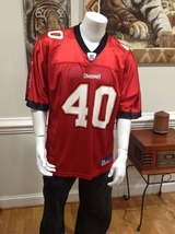 (Sale) #40 Mike Alstott #40 -Tampa Bay Buccaneers Jersey Size Large  - $14.50