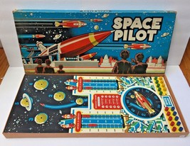 Vtg Vintage 1951 Space Pilot By Cadaco Ellis Board Game Hard To Find Htf - $179.99