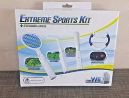Wii 4-in-1 Extreme Sports Kit New in Box - $19.75